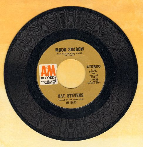 Stevens, Cat - Moon Shadow/I Think I See The Light  - EX8/ - 45 rpm Records
