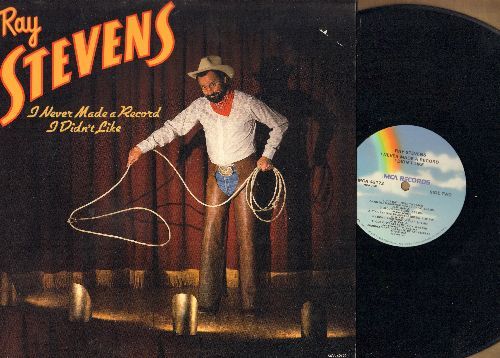 Stevens, Ray - I Never Made A Record I Didn't Like: Surfin' U.S.S.R., The Booger Man, Mam's In The Sky With Elvis, Bad, Old Hippie Class Reunion (vinyl STEREO LP record) - NM9/EX8 - LP Records