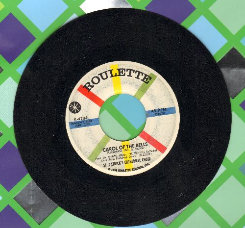 St. Patrick's Cathedral Choir - Carol Of The Bells/Carol Of The Drums - EX8/ - 45 rpm Records