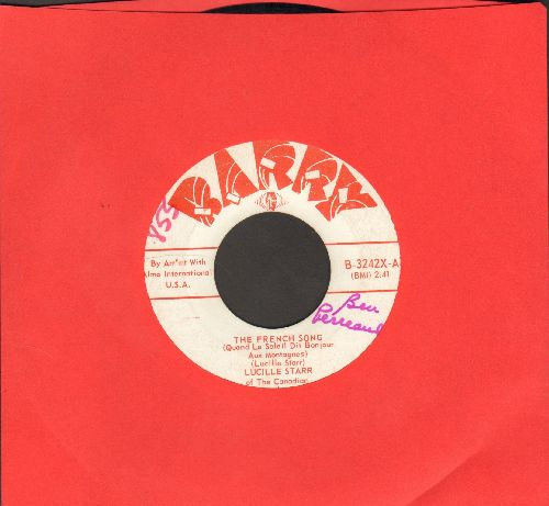 Starr, Lucille - The French Song/Sit Down And Write A Letter To Me (US Pressing, sung in French and English)(wol) - EX8/ - 45 rpm Records