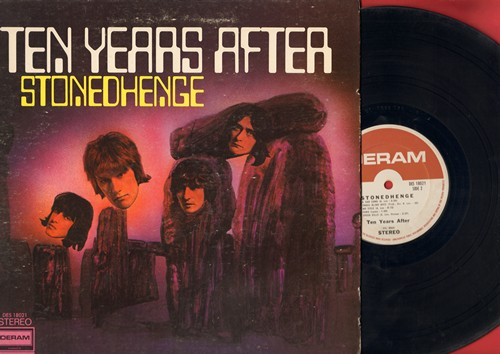 Ten Years After - Stonehenge: Going To Try, I Can't Live Without Lydia, Hear Me Calling, Speed Kills (vinyl STEREO LP recordf, gate-fold cover) - NM9/VG7 - LP Records