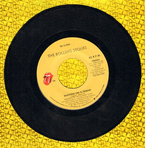 Rolling Stones - Waiting On A Friend/Little T&A - NM9/ - 45 rpm Records