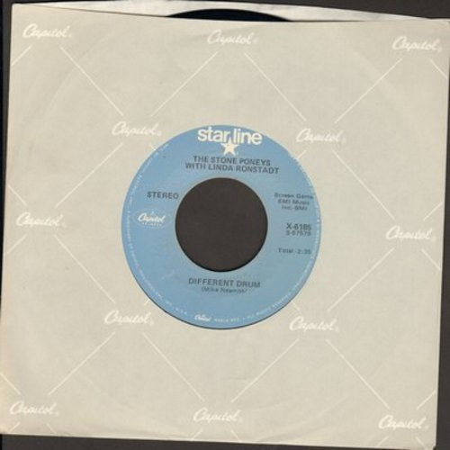 Ronstadt, Linda - Different Drum/Long Long Time (double-hit re-issue) - EX8/ - 45 rpm Records