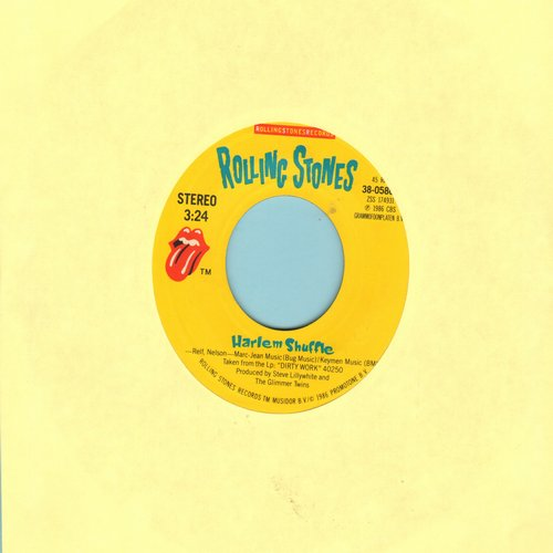 Rolling Stones - Harlem Shuffle/Had It With You   - EX8/ - 45 rpm Records