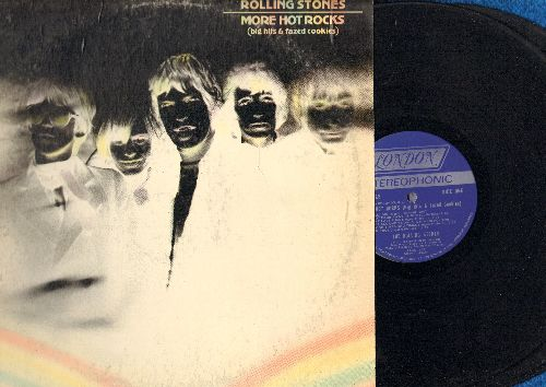 Rolling Stones - More Hot Rocks (Big Hits & Fazed Cookies): Lady Jane, Dandelion, Money, Fortune Teller, Not Fade Away (2 vinyl STEREO LP records, gate-fold cover) - EX8/VG6 - LP Records