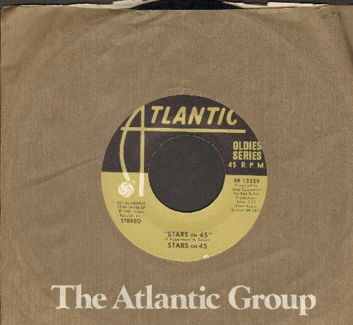 Stars On 45 - Stars On 45/Medley (early re-issue with Atlantic company sleev) - NM9/ - 45 rpm Records