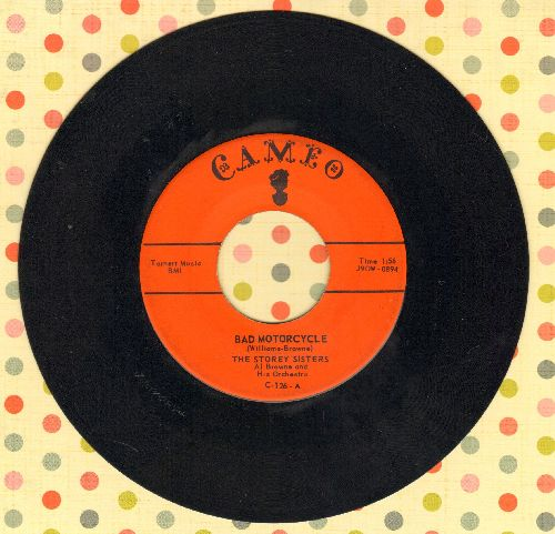 Storey Sisters - Bad Motorcycle/Sweet Daddy - EX8/ - 45 rpm Records