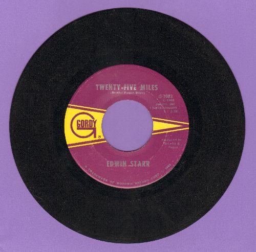 Starr, Edwin - Twenty-Five Miles/Love Is My Destination  - EX8/ - 45 rpm Records