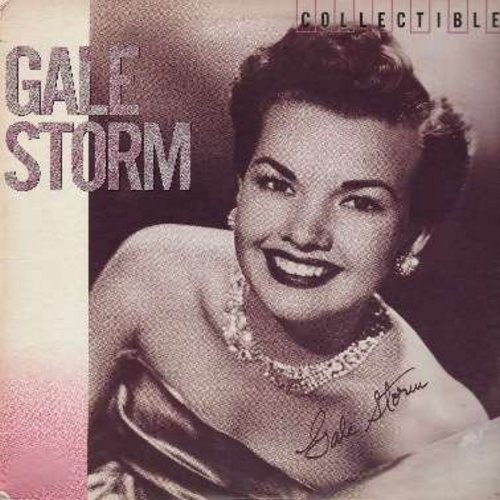 Storm, Gale - Collectibles: I Hear You Knockin', Ivory Tower, Why Do Fools Fall In Love?, Dark Moon, Lukcy Lips, Memories Are Made Of This, A Teenage Prayer (vinyl LP record, re-issue of original vintage recordings) - M10/EX8 - LP Records
