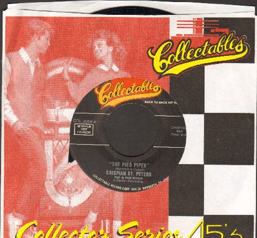 St. Peters, Crispian - The Pied Piper/Changes (re-issue) - NM9/ - 45 rpm Records