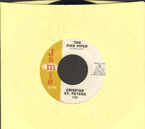 St. Peters, Crispian - The Pied Piper/Sweet Dawn My True Love - EX8/ - 45 rpm Records