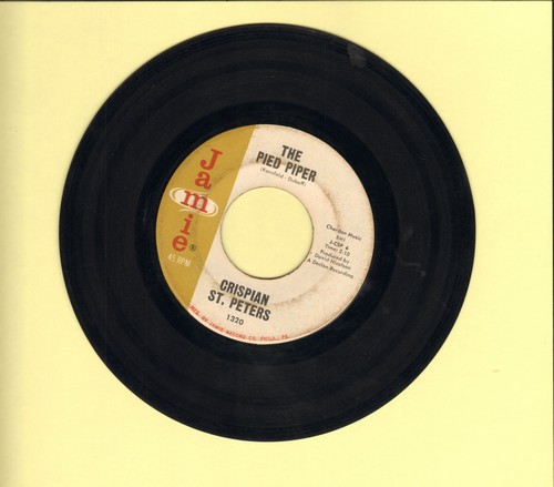 St. Peters, Crispian - The Pied Piper/Sweet Dawn My True Love (wol/sol) - VG7/ - 45 rpm Records