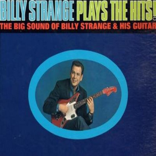 Strange, Billy - Billy Starnge Plays The Hits!: Satisfaction, Catch The Wind, What's New Pussycat, Hey Mr. Tamborine Man, Hush Hush Sweet Charlotte (vinyl STEREO LP record) - M10/VG7 - LP Records