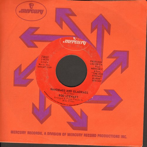 Stewart, Rod - Handbags And Gladrags/Man Of Constant Sorrow (with Mercury company sleeve) - NM9/ - 45 rpm Records