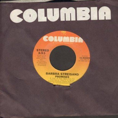 Streisand, Barbra - Promises/Make It Like A Memory - EX8/ - 45 rpm Records