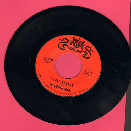 String-A-Longs - Panic Button/Brass Buttons - EX8/ - 45 rpm Records