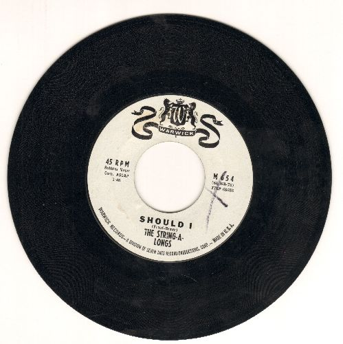 String-A-Longs - Should I/Take A Minute - NM9/ - 45 rpm Records