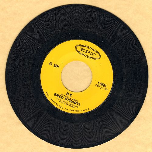 Stuarti, Enzo - He/You Don't Know Me - NM9/ - 45 rpm Records