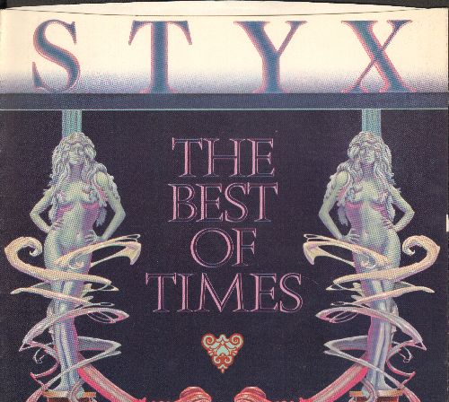Styx - The Best Of Times/Lights (with picture sleeve) - NM9/NM9 - 45 rpm Records