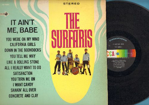 Surfaris - It Ain't Me, Babe: California Girls, Satisfaction, I Want Candy, Shakin' All Over (vinyl STEREO LP record) - EX8/VG7 - LP Records