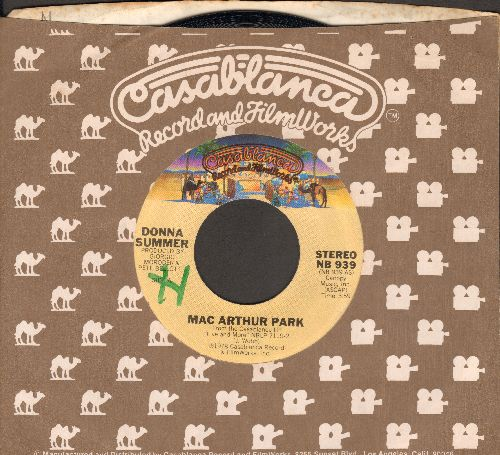 Summer, Donna - Mac Arthur Park/Once Upon A Time (with Casablanca company sleeve) (minor wol) - NM9/ - 45 rpm Records