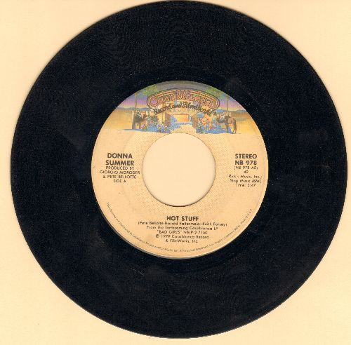 Summer, Donna - Hot Stuff/Journey To The Centre Of Your Heart (DISCO FAVORITE!) - VG7/ - 45 rpm Records