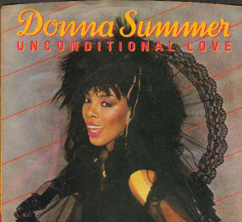 Summer, Donna - Unconditional Love/Woman (with picture sleeve) - M10/NM9 - 45 rpm Records