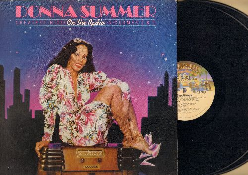 Summer, Donna - On The Radio - Greatest Hits: Love To Love You Baby, Last dance, Mac Arthur Park, Hot Stuff, Bad Girls, I Feel Love (2 vinyl STEREO LP record set) - NM9/EX8 - LP Records