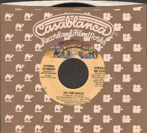 Summer, Donna - On The Radio/There Will Always Be A You (with Casablanca company sleeve) - NM9/ - 45 rpm Records