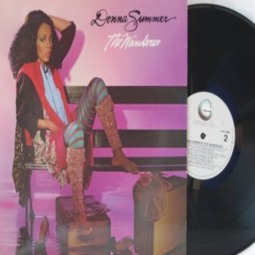 Summer, Donna - The Wanderer: Cold Love, Who Do You Think You're Foolin', Running For Cover (vinyl STEREO LP record) - M10/EX8 - LP Records