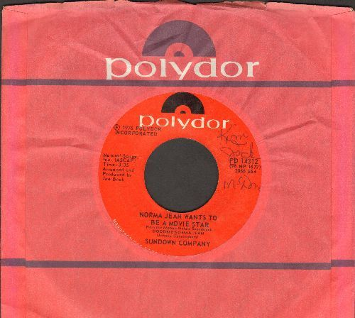 Sundown Company - Norma Jean Wants To Be A Movie Star/Moon Beam Pie (with Polydor company sleeve) (wol) - EX8/ - 45 rpm Records