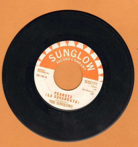 Sunglows - Peanuts (La Cacahuata)/Happy Hippo (with juke box label) - EX8/ - 45 rpm Records