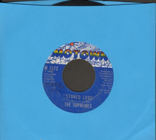 Supremes - Stoned Love/Shine On Me - VG7/ - 45 rpm Records