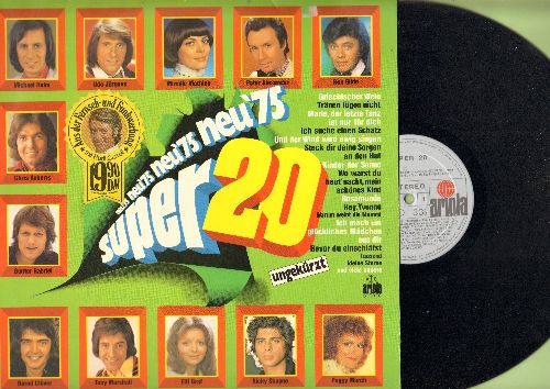 Gildo, Rex, Maggie Mae, Cindy & Bert, others - Super 20: My Boy Lollipop, Ich suche einen Schatz, Ophlia's Traum, Grieschicher Wein (vinyl STEREO LP record, German Pressing) - NM9/EX8 - LP Records