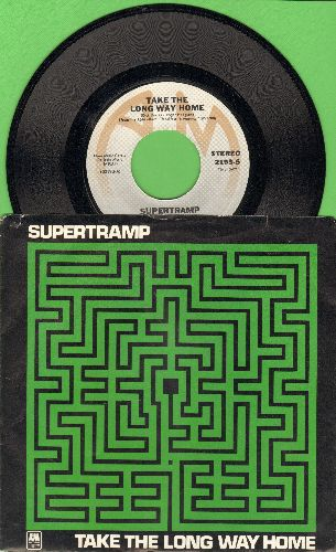 Supertramp - Take The Long Way Home/Rudy (with picture sleeve) - NM9/EX8 - 45 rpm Records