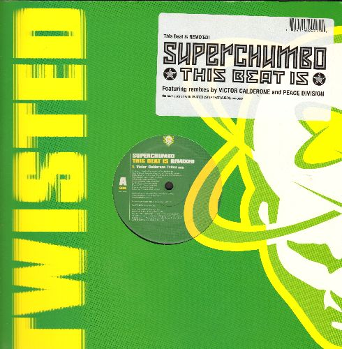 Superchumbo - This Beat Is (Victor Calderone Tribal Mix)/This Beat Is (Peace Division's Deeper Mix (12 inch vinyl Maxi Single with picture cover) - M10/M10 - Maxi Singles