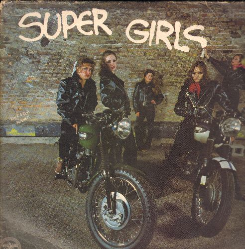 Shangri-Las, Joanie Sommers, Shirley Ellis, Little Eva, others - Super Girls: Locomotion, Johnny Angel, My Guy, Johnny Get Angry, Lollipop, I Will Follow Him (3 vinyl LP record set, 1979 pressing of vintage recordings) - NM9/VG7 - LP Records