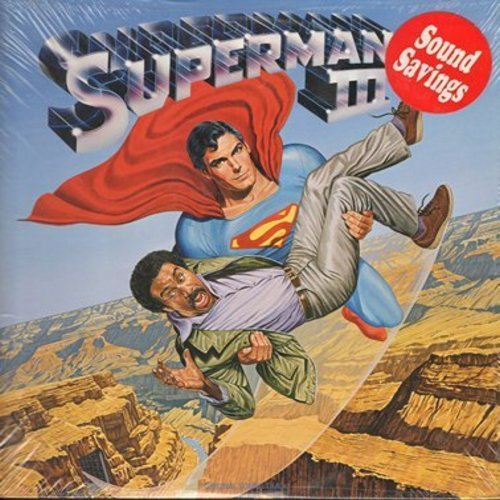 Williams, John, Chaka Khan, Roger Miller, Helen St. John, Marshall Crenshaw - Superman III - Original Motion Picture Sound Track, Score composed by John Williams (vinyl STEREO LP record, SEALED, never opened!) - SEALED/SEALED - LP Records