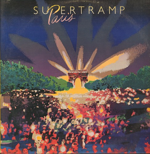 Supertramp - Paris: The Logical Song, Breakfast In America, Dreamer, Take The Long Way Home (2 vinyl STEREO LP records, gate-fold cover) - NM9/EX8 - LP Records