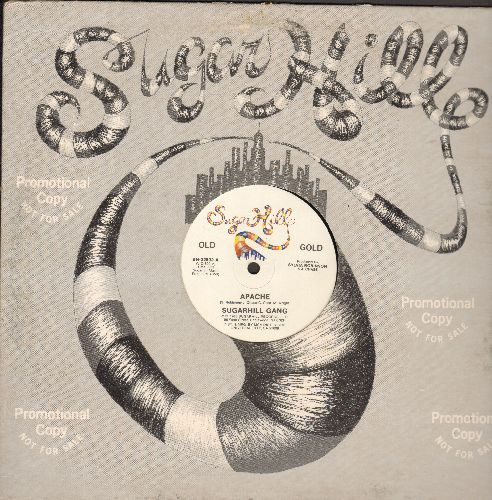 Sugarhill Gang - Apache (6:09 Extended Disco Version)/Hot Hot Summer Day (6:58 Extended Disco Version) (12 inch vinyl Maxi-Single with company cover, 1985 re-issue of Vintage Rap-Classic!) - NM9/ - Maxi Singles