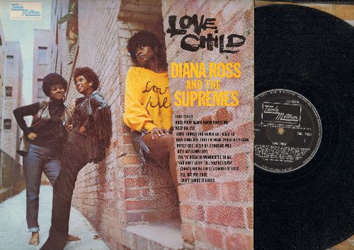 Supremes - Love Child: Honey Bee (Keep On Stinging Me), He's My Sunny Boy, You Ain't Livin' Till You're Lovin', I'll Set You Free (vinyl STEREO LP record, British Pressing) - VG7/VG7 - LP Records