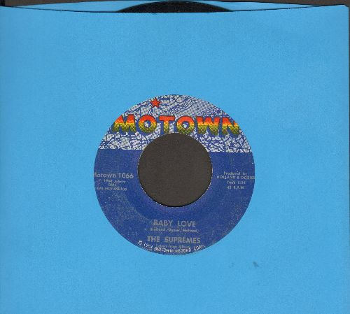 Supremes - Baby Love/Ask Any Girl  - VG7/ - 45 rpm Records
