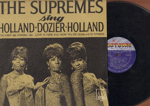 Supremes - The Supremes Sing Holland-Dozier-Holland: You Keep Me Hangin' On, Heat Wave, It's The Same Old Song, There's No Stopping Us Now (vinyl MONO LP record) - VG7/EX8 - LP Records