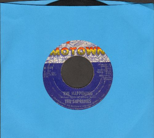 Supremes - The Happening/All I Know About You  - VG7/ - 45 rpm Records