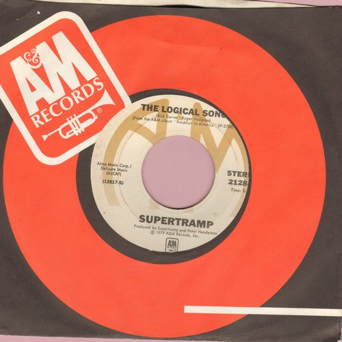 Supertramp - The Logical Song/Just Another Nervous Wreck - EX8/ - 45 rpm Records