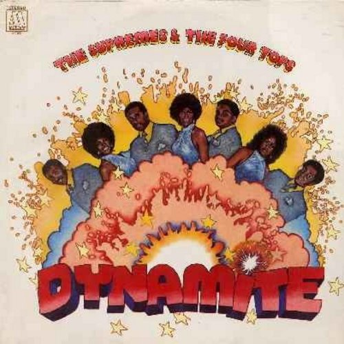Supremes & The Four Tops - Dynamite: The Bigger You Love (The Harder You Fall), Hello Stranger, Love The One You're With, Melodie, If, Don't Let Me Lose This Dream (vinyl STEREO LP record, SEALED, never opened!) - SEALED/SEALED - LP Records