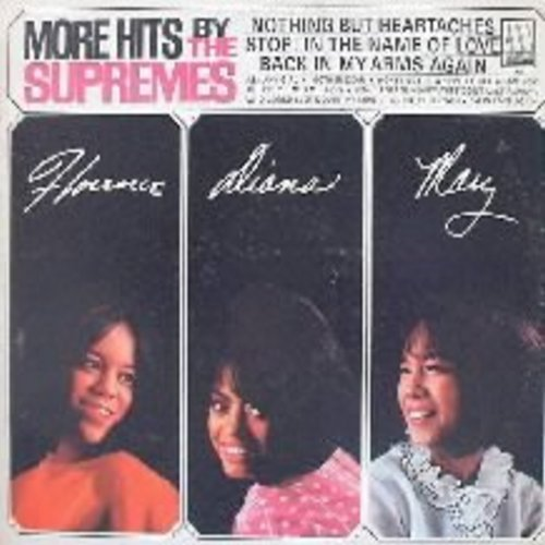 Supremes - More Hits: Stop! In The Name Of Love, Back In My Arms Again, Ask Any Girl (mono) - NM9/EX8 - LP Records