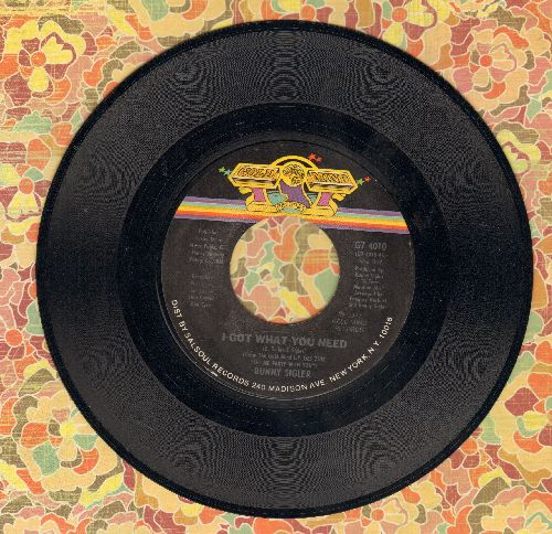Sigler, Bunny - I Got What You Need/It's Time To Twist - M10/ - 45 rpm Records