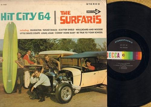 Surfaris - Hit City 64: Be True To Your School, Little Deuce Coupe, Louie Louie, Sugar Shack, Earthquake (vinyl STEREO LP record) - NM9/VG7 - LP Records