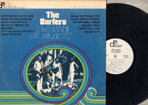Surfers - Live & Wel At Latitude 20!: Put Your Hand In The Hand, Good Morning Starshine, The Impossible Dream, For All We Know (vinyl STEREO LP record) - NM9/VG7 - LP Records